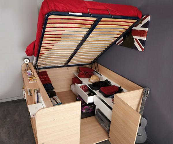 Space Up Bed And Storage