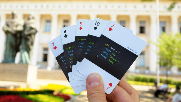Programming Language Playing Cards